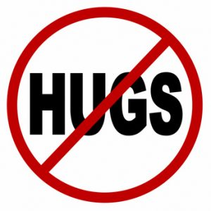 Can Hugging Be Hostile?